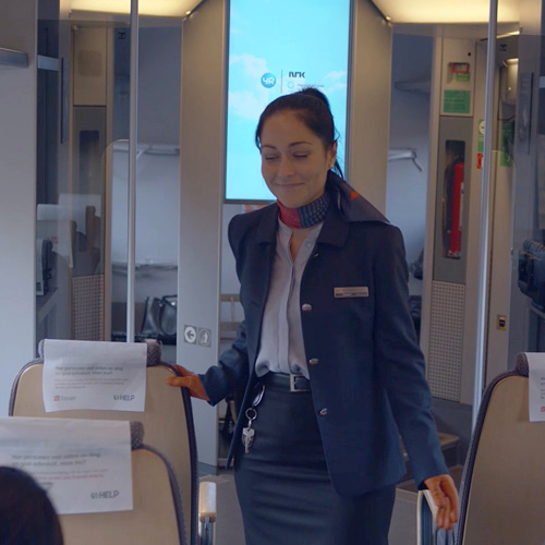 Flytoget –Rekruttering- og introduksjonsfilmer for nyansatte. Klikk for å lese om prosjektet.