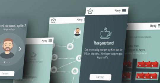 Kompis for Kompetanse Norge: Et spill i grunnleggende ferdigheter